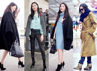 年度盘点丨高圆圆、刘雯..8位人气女星最in大衣榜单