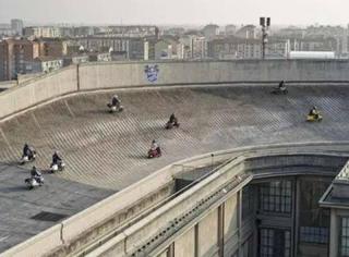 意大利的屋顶赛车道