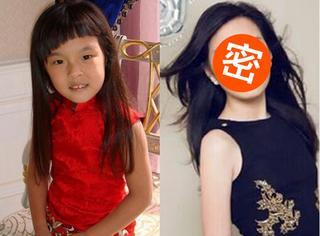 李咏女儿从小被嘲笑长得丑,如今13岁的她已经美得让人羡慕!