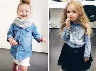 气质从小培养,一个可爱又时尚的4岁小洋妞—Harlow