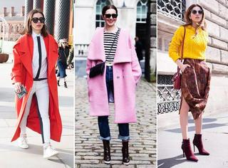 这个冬天,最流行的色彩搭配!