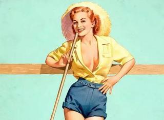 年代美品 PIN-UP GIRL背后的神级制造者