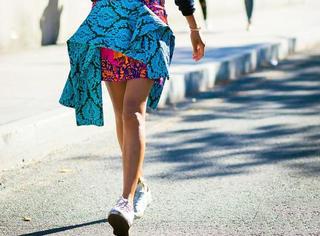 时尚达人不会教你他们偷偷穿了不规则裙