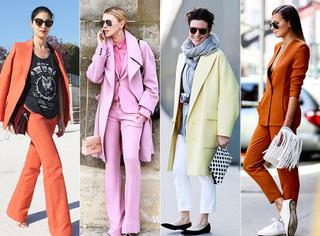时髦的人都穿明年的流行色了