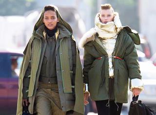 """告别""""乡村style""""选对款式你的军大衣也能超时髦"""