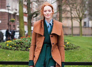 冬天把衣服搭出了层次感,就是真正的穿衣高手!