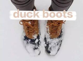 2016年的冬天,安利你一双猎鸭子的短靴!