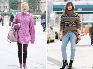 怎样选毛衣才能更美更时髦?!