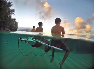 分享丨他用一套廉价设备拍出了水底陆地两个世界