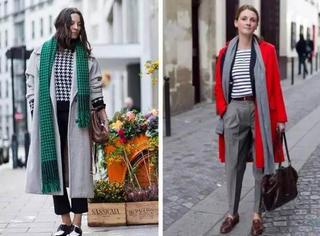 8种围巾的凹造型系法,想时髦就朝这儿看~