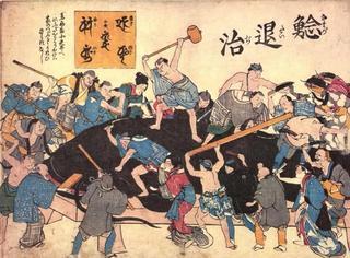 日本神话中的地震,都是鲶鱼惹的祸