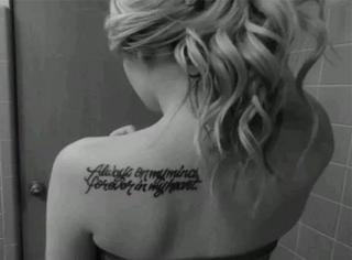 纹身│女生的故事和小秘密都藏在这里