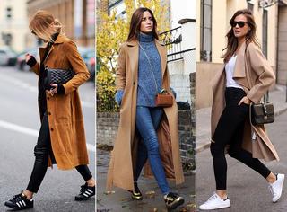 穿长款大衣的时候,你穿的都是些什么鞋?