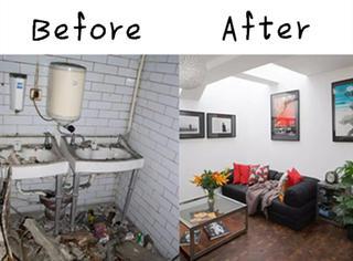 6年坚持、1年半施工:她把肮脏公厕爆改成温馨的家!