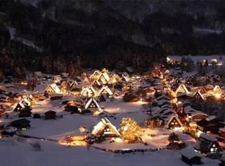 日本冬日最美的小县城,雪景温泉不输北海道,还藏了一座世界文化遗产古村落