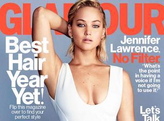 Jennifer不再是只是强悍的大表姐了,拍大片这么性感刮目相看