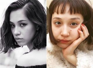去年LOB今年二次元刘海,水原姐妹俩承包了这两年的最in发型!