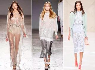 16春夏趋势   高级性感不只是露露露,透视风重回主流时尚