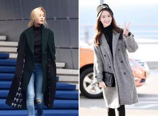从郑秀妍到林允儿韩国欧尼们冬天都在穿什么?