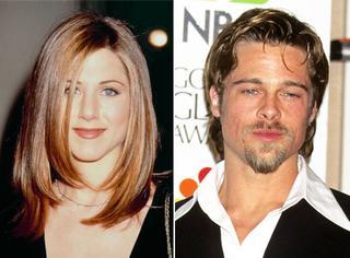20年前的金球奖红毯,当她还貌美如花,而他还年轻俊俏...