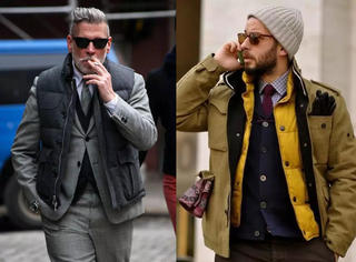 潮范儿|时髦保暖又不显胖 羽绒马夹的4种穿搭术
