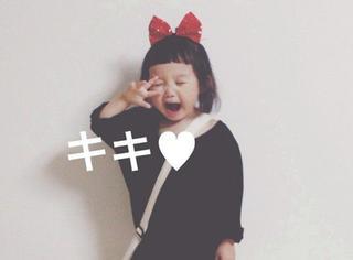 看了她的照片毁了我的童年,日本麻麻是这样打扮女儿的...