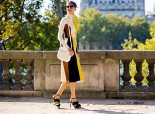 时尚博主分享年会穿衣法则,拒绝路人style