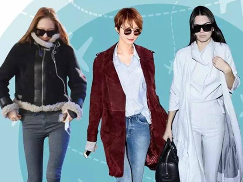 19位女星的机场style,登机请像明星一样美!