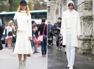 搭配 | 三种机智搭配,帮你在冬天也能SHOW出全白时尚