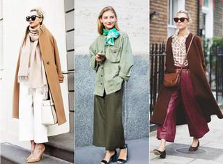 冬季你不能缺少的3款衣服色系~