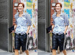 大发现| 套着穿、反着穿...时装精的衬衫就是用来耍酷的!