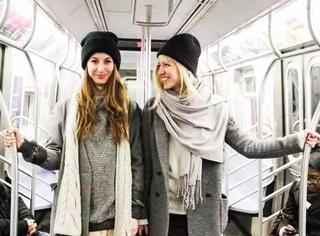 围巾戴不好就俗得很,今年流行这样戴,真漂亮!