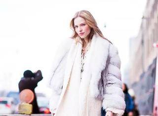 雪天就是想要穿一身白色
