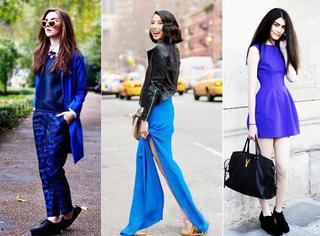 7种蓝色服饰搭配方案,任何场合永不落伍!