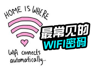 真相帝丨中国用户最常用的WiFi密码,看看你中枪了吗?