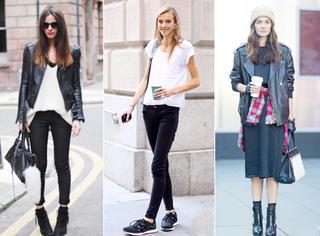 女人千万不要乱穿黑色,懂得搭配才会有气质!