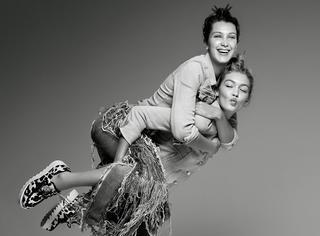 模界新星Hadid姐妹花的衣橱+私生活大揭秘