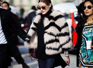 名媛衣橱大赏|这女人就是让人看不腻,80张图不重样学OP玩转冬季时髦!