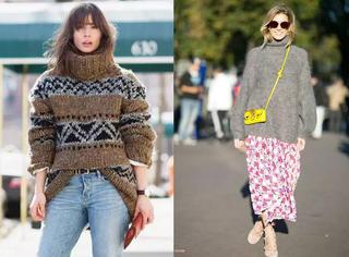 这些毛衣就是时髦担当,内搭外穿两不误!