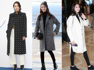 韩国女星冬季怎样用大衣变得更美