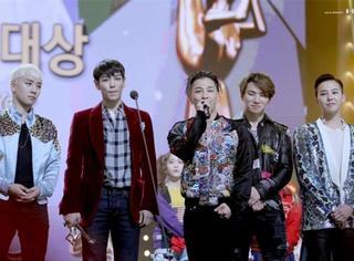 快讯 | 韩国金唱片大赏,不出所料BigBang又是大赢家!