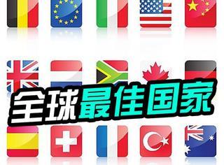 2016全球最佳国家排名发布,德国第1,中国第17