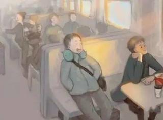 看完这套插画,我更加想家了。