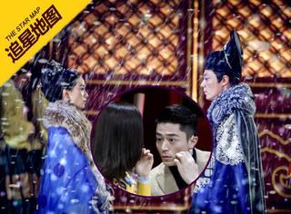 【追星地图】霍建华刘诗诗出席江苏卫视新剧发布会,甜蜜互动变表情包