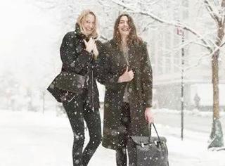 雨雪天,这样穿的女孩才是真的赢了!