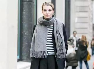 一条时髦围巾,给时尚多加一分!