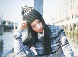 毛线帽真漂亮,这么搭配能美一冬天!
