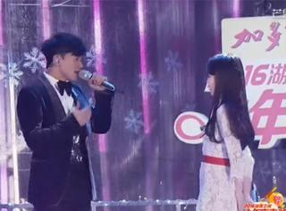 当张杰站在IU面前唱情歌,那画面比韩剧美多了