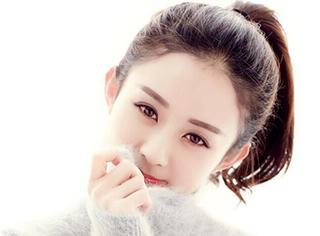 赵丽颖长得一般,但是她留对了发型,就是个大美女!