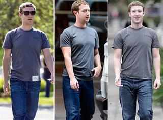 身家过亿的扎克伯格竟然只有一件衣服
